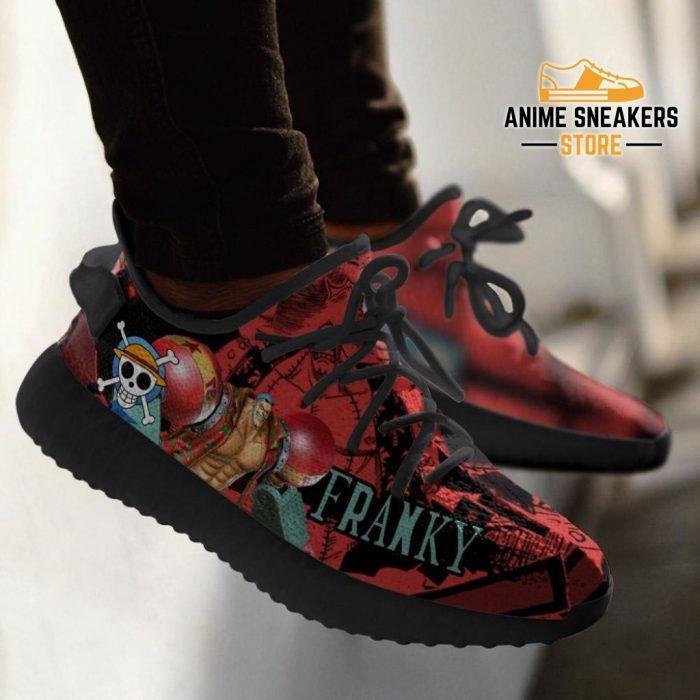 Franky Yeezy Shoes One Piece Anime Fan Gift Tt04
