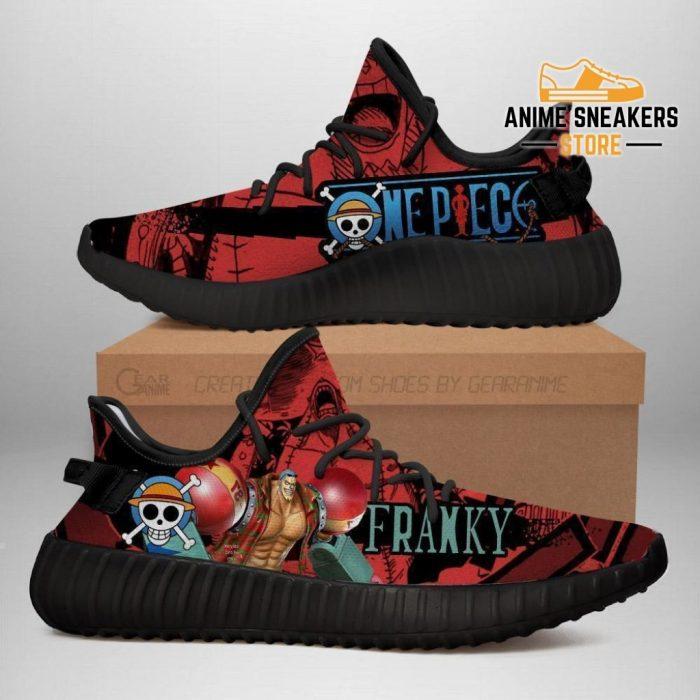 Franky Yeezy Shoes One Piece Anime Fan Gift Tt04 Men / Us6