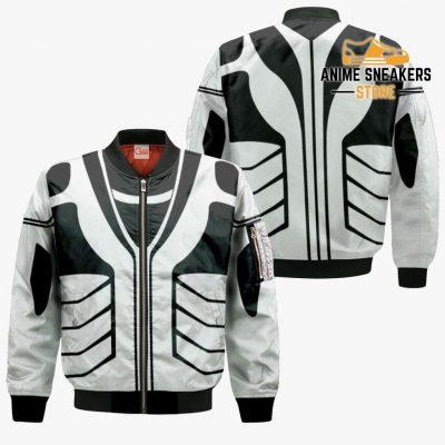 Fullbring Ichigo Shirt Costume Uniform Bleach Anime Hoodie Sweater Bomber Jacket / S All Over