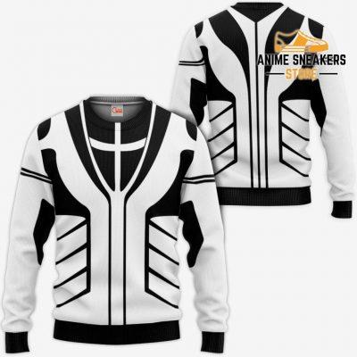 Fullbring Ichigo Shirt Costume Uniform Bleach Anime Hoodie Sweater / S All Over Printed Shirts