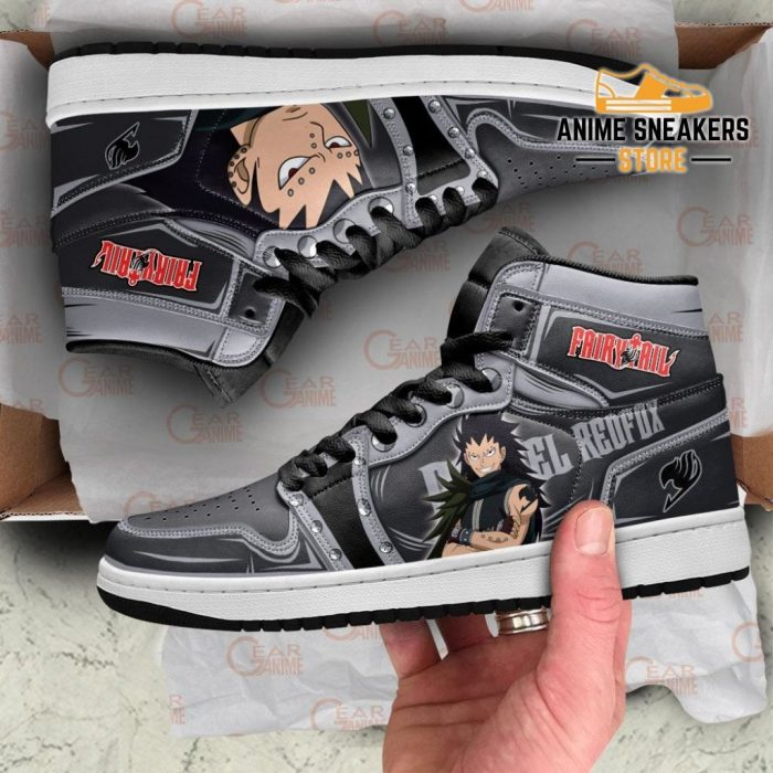 Gajeel Redfox Sneakers Fairy Tail Anime Shoes Mn11 Jd