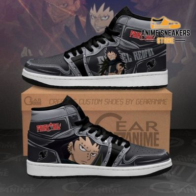 Gajeel Redfox Sneakers Fairy Tail Anime Shoes Mn11 Men / Us6.5 Jd