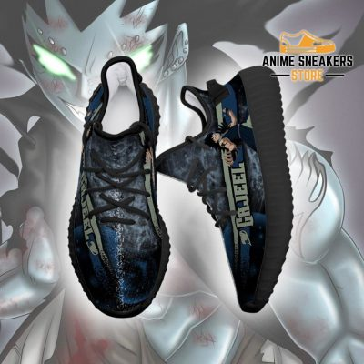 Gajeel Yeezy Shoes Custom Fairy Tail Anime Sneakers Fan Gift Idea Tt05