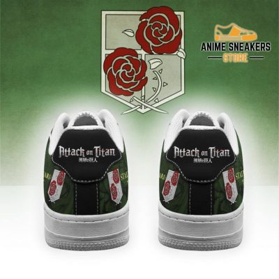 Aot Garrison Slogan Sneakers Attack On Titan Anime Shoes Air Force