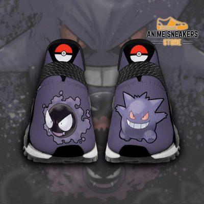 Gengar Shoes Pokemon Custom Anime Tt11 Men / Us6 Nmd