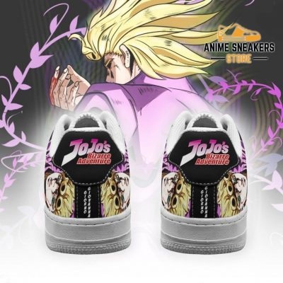 Giorno Giovanna Sneakers Jojo Anime Shoes Fan Gift Idea Pt06 Air Force