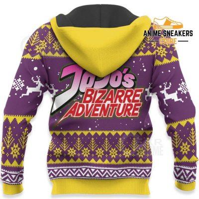 Giorno Giovanna Ugly Christmas Sweater Jojos Bizarre Adventure Anime Va11 All Over Printed Shirts