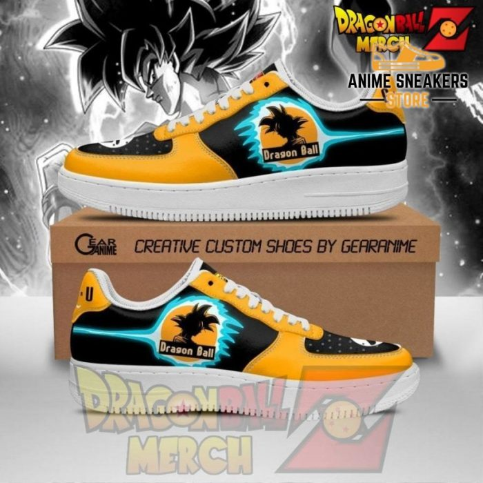 Goku Air Force Sneakers Custom Shoes No.3 Men / Us6.5