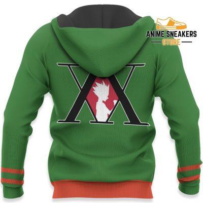 Gon Freecss Hunter X Uniform Shirt Hxh Anime Hoodie Jacket All Over Printed Shirts