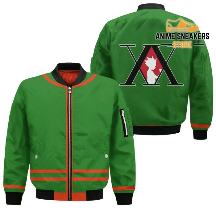 Gon Freecss Hunter X Uniform Shirt Hxh Anime Hoodie Jacket Bomber / S All Over Printed Shirts