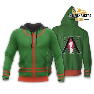 Gon Freecss Hunter X Uniform Shirt Hxh Anime Hoodie Jacket / S All Over Printed Shirts