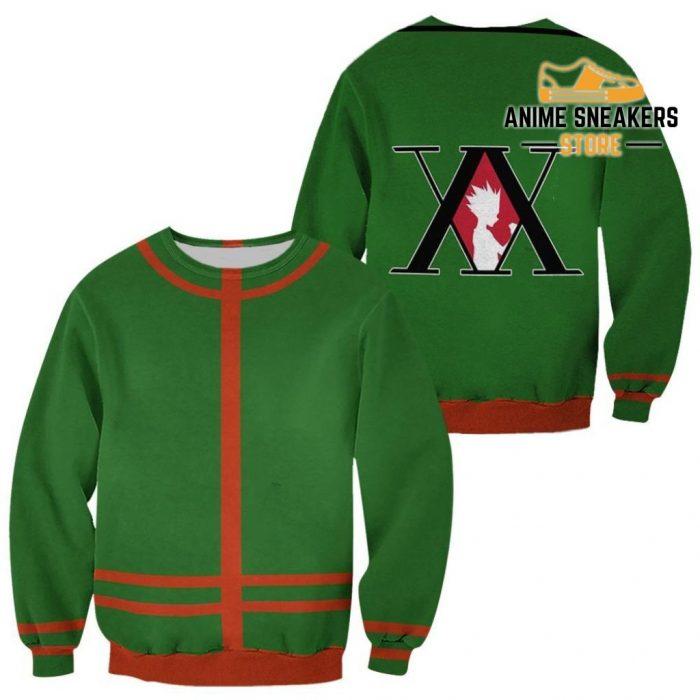 Gon Freecss Hunter X Uniform Shirt Hxh Anime Hoodie Jacket Sweater / S All Over Printed Shirts