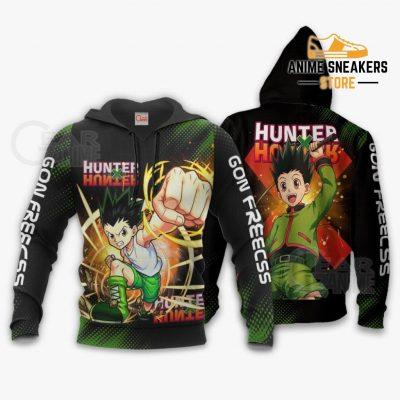 Gon Freecss Shirt Hunter X Custom Anime Hoodie Jacket / S All Over Printed Shirts