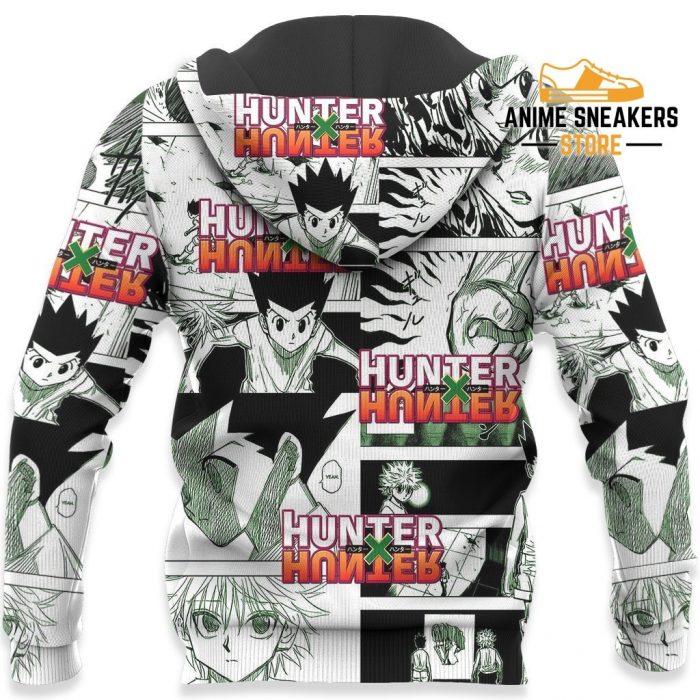 Gon Hunter X Shirt Sweater Hxh Anime Hoodie Manga Jacket All Over Printed Shirts