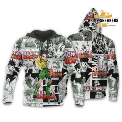 Gon Hunter X Shirt Sweater Hxh Anime Hoodie Manga Jacket / S All Over Printed Shirts