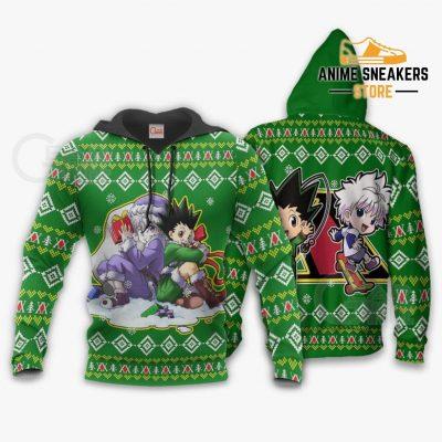 Gon & Killua Hxh Ugly Christmas Sweater Hunter X Anime Xmas Hoodie / S All Over Printed Shirts