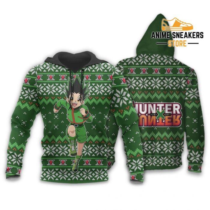 Gon Ugly Christmas Sweater Hunter X Anime Custom Xmas Clothes Hoodie / S All Over Printed Shirts