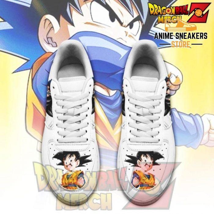 Goten Air Force Sneakers Custom Shoes No.2