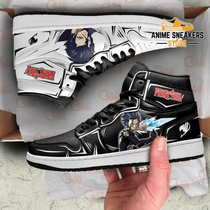 Gray Fullbuster Sneakers Fairy Tail Anime Shoes Mn11 Jd