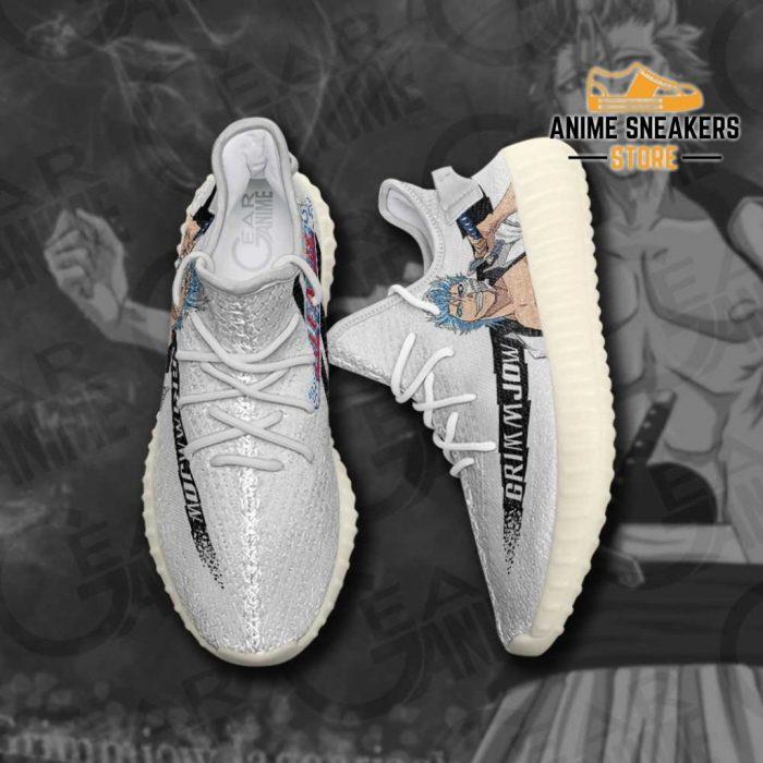 Grimmjow Shoes Bleach Custom Anime Sneakers Yeezy