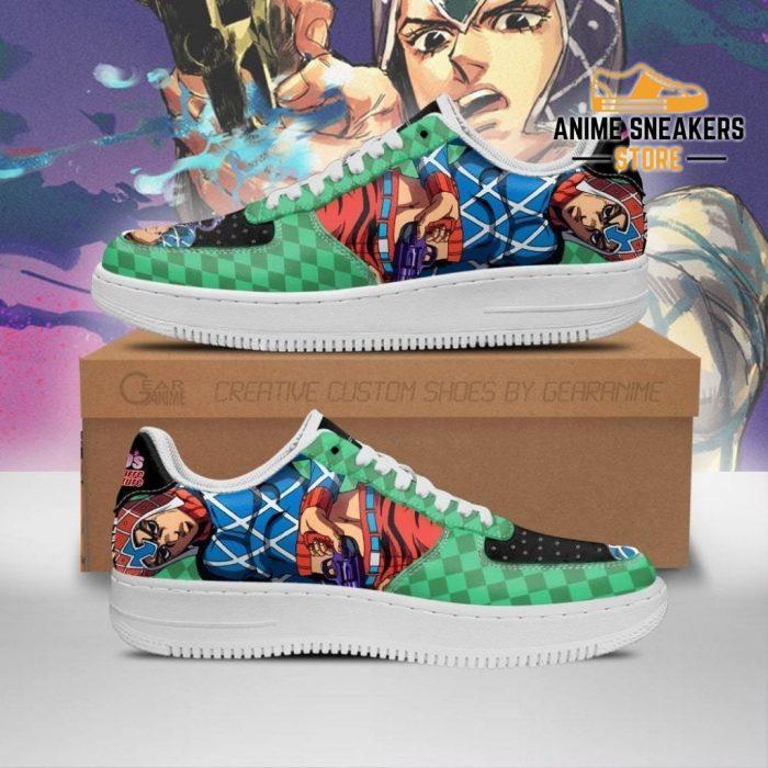 Guido Mista Sneakers Jojo Anime Shoes Fan Gift Idea Pt06 Men / Us6.5 Air Force