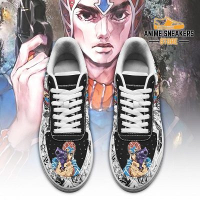 Guido Mista Sneakers Manga Style Jojos Anime Shoes Fan Gift Pt06 Air Force