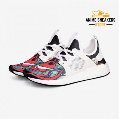 Gurren Lagann Custom Nomad Shoes 3 / White Mens