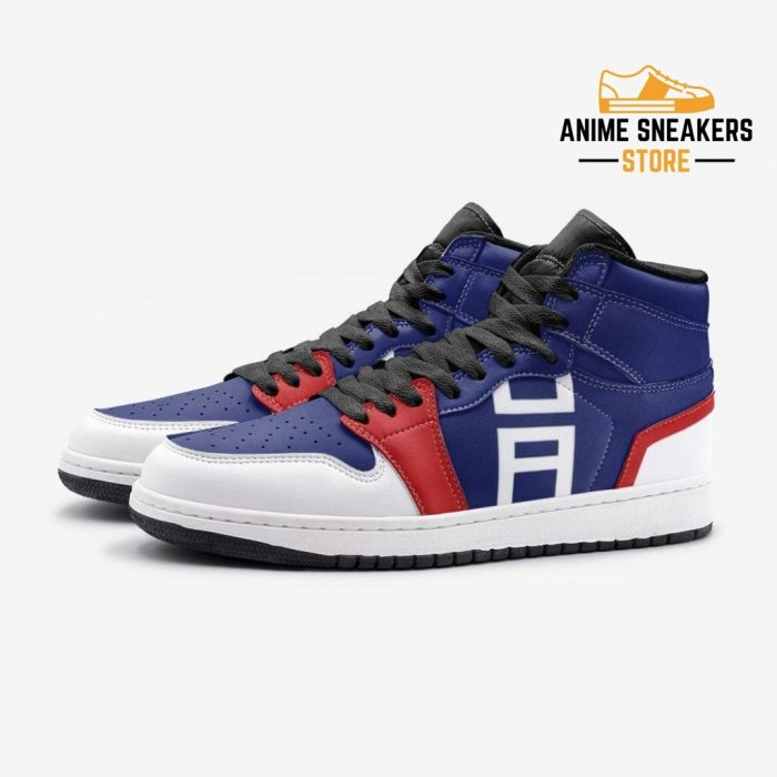 Gym Sports Pattern My Hero Academia Custom J-Force Shoes Mens
