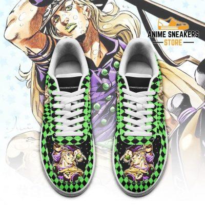 Gyro Zeppeli Sneakers Custom Jojos Anime Shoes Fan Gift Idea Pt06 Air Force