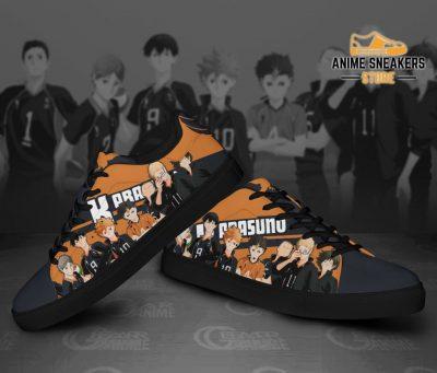 Haikyu Karasuno Skate Shoes Haikyu!! Custom Anime