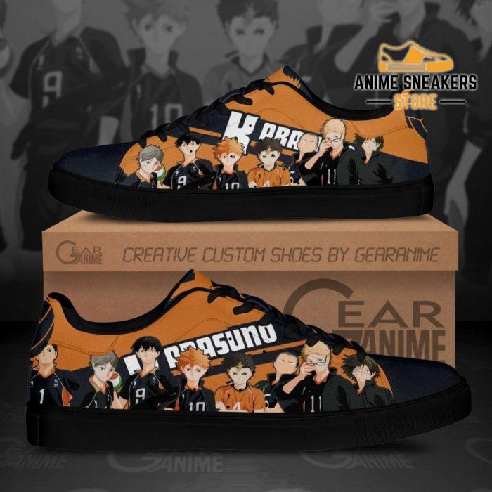 Haikyu Karasuno Skate Shoes Haikyu!! Custom Anime Men / Us6