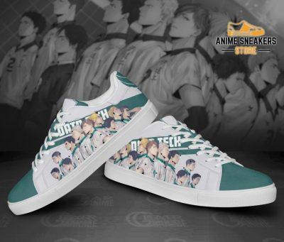 Haikyu Date Tech Skate Shoes Black Haikyu!! Custom Anime