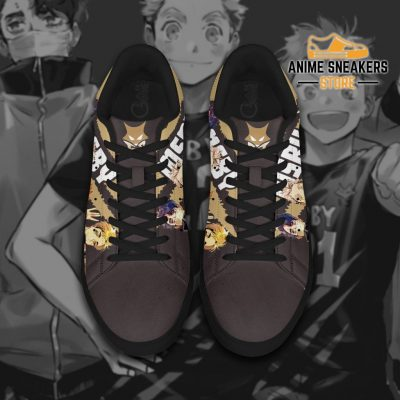 Haikyu Msby Skate Shoes Black Haikyu!! Custom Anime