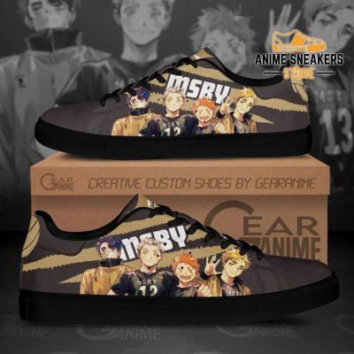 Haikyu Msby Skate Shoes Black Haikyu!! Custom Anime Men / Us6