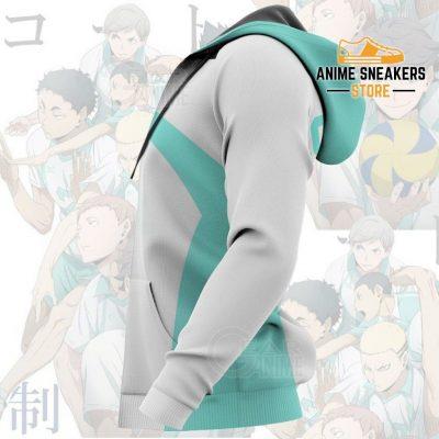 Haikyuu Aoba Johsai High Shirt Costume Anime Hoodie Sweater All Over Printed Shirts