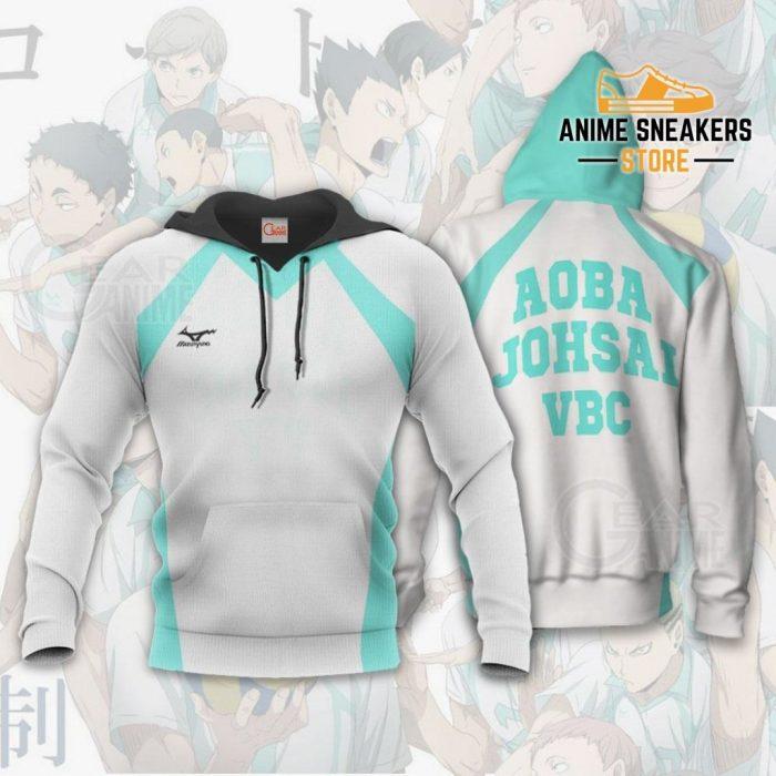 Haikyuu Aoba Johsai High Shirt Costume Anime Hoodie Sweater / S All Over Printed Shirts