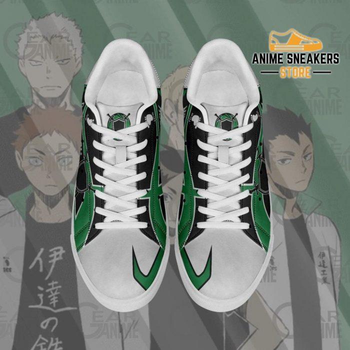 Date Tech High Skate Shoes Haikyuu Anime Custom Pn10