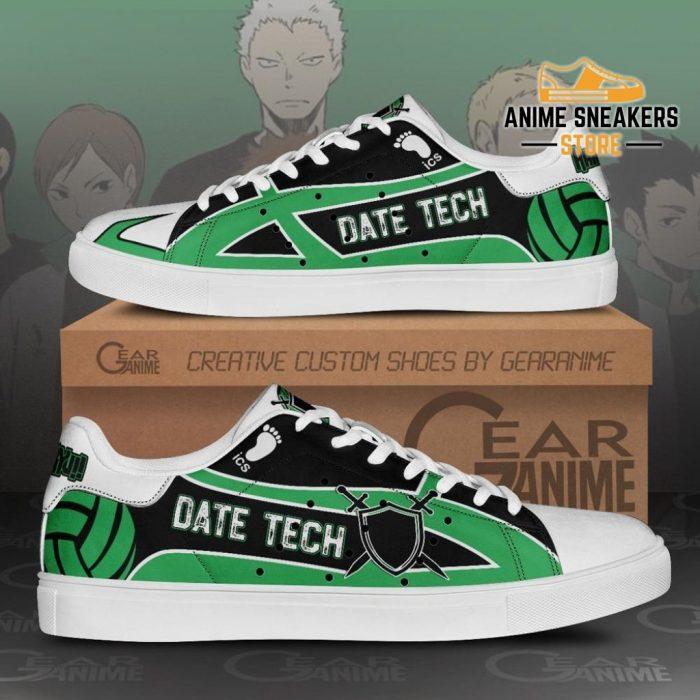 Date Tech High Skate Shoes Haikyuu Anime Custom Pn10 Men / Us6