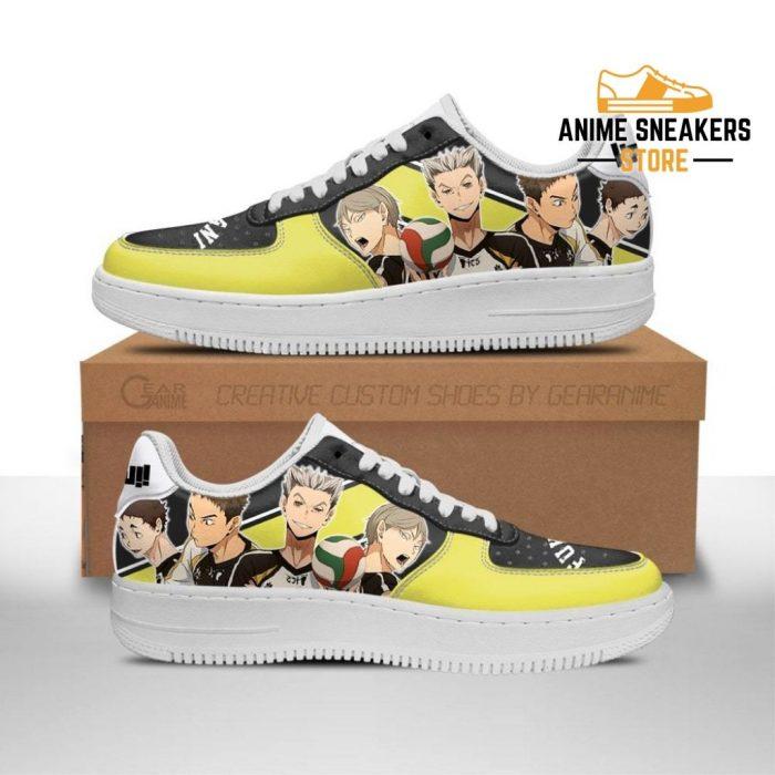Haikyuu Fukurodani Academy Sneakers Team Anime Shoes Men / Us6.5 Air Force