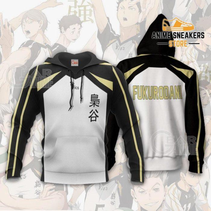 Haikyuu Fukurodani Academy Shirt Costume Anime Hoodie Sweater / S All Over Printed Shirts
