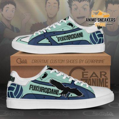Fukurodani Academy Skate Shoes Haikyuu Anime Custom Pn10 Men / Us6