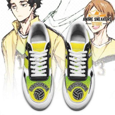 Haikyuu Itachiyama Academy Sneakers Uniform Anime Shoes Air Force