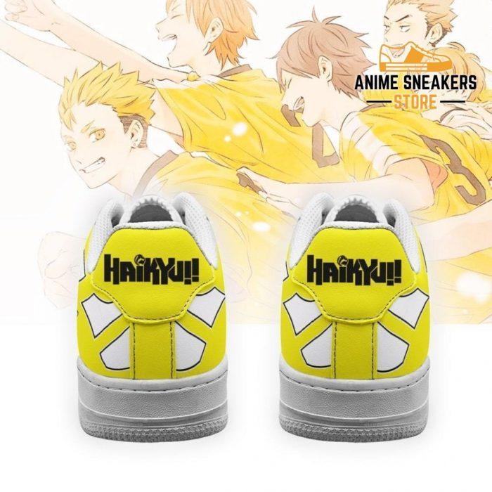 Haikyuu Johzenji High Sneakers Uniform Team Anime Shoes Air Force