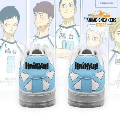 Haikyuu Kamomedai High Sneakers Uniform Anime Shoes Air Force