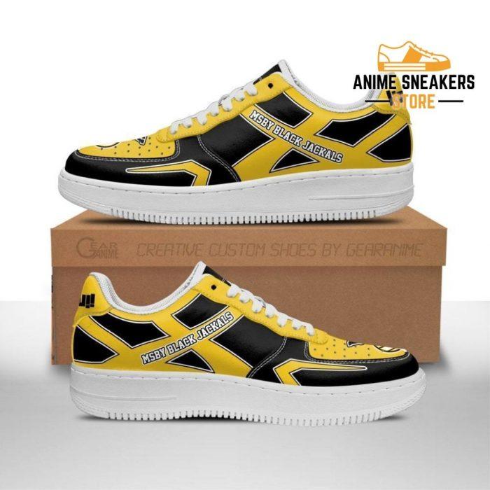 Haikyuu Msby Black Jackals Sneakers Uniform Anime Shoes Men / Us6.5 Air Force