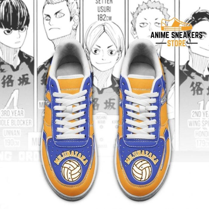 Haikyuu Mujinazaka High Sneakers Uniform Anime Shoes Air Force