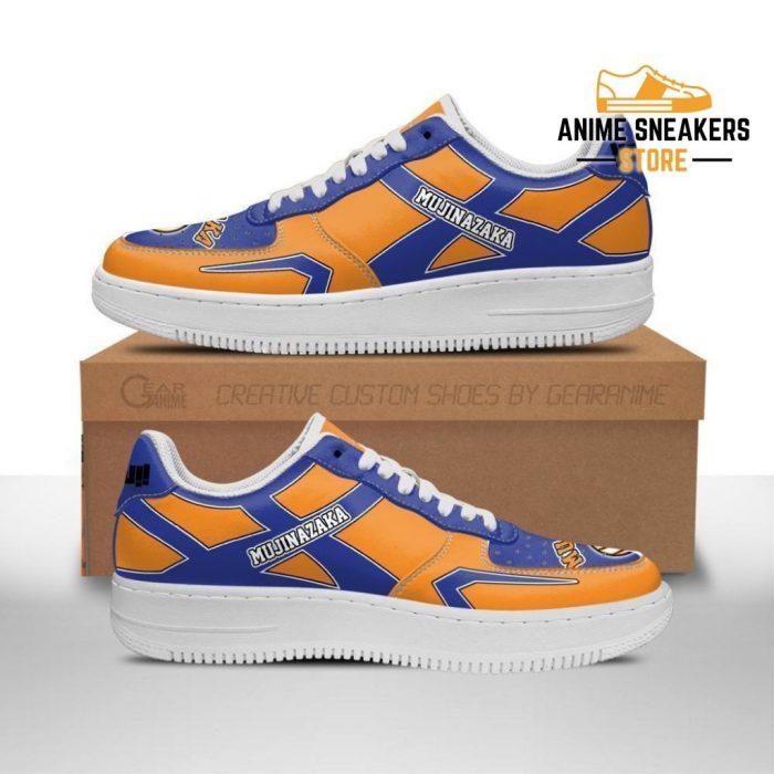 Haikyuu Mujinazaka High Sneakers Uniform Anime Shoes Men / Us6.5 Air Force