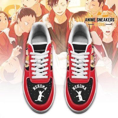 Haikyuu Nekoma High Sneakers Team Anime Shoes Air Force