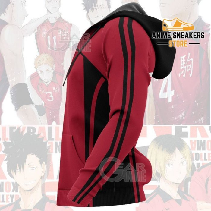 Haikyuu Nekoma High Shirt Costume Anime Hoodie Sweater All Over Printed Shirts