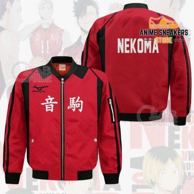 Haikyuu Nekoma High Shirt Costume Anime Hoodie Sweater Bomber Jacket / S All Over Printed Shirts